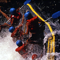 Adrenalin activities, Zambezi rafting