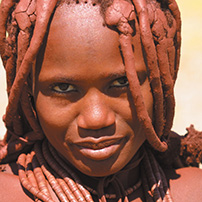 Cultural Activities, Himba girl, Namibia