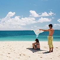 Ibo Island sand bank, Mozambique