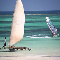 Kenya coast watersports