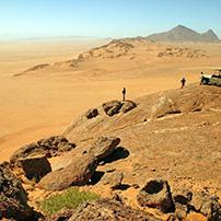 Namibia desert scene