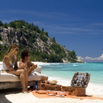 North Island relaxation, Seychelles