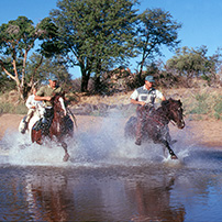 Riding safaris, Botswana