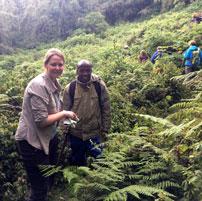 Michele in Rwanda