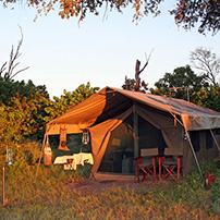 Luxury mobile Camp, Botswana