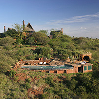 Private safari house, Kenya