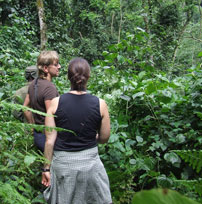 Mary takes in the primates of Uganda and Rwanda - October 2011