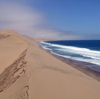 Michele travels through the wilderness of Namibia - December 2011
