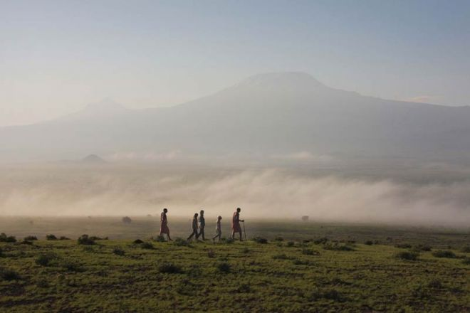 Elewana Tortilis Camp Bush Walk Kilimanjaro