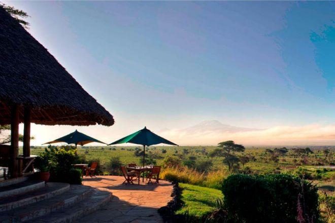 Elewana Tortilis Camp Lounge View