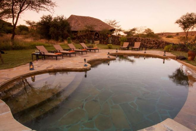 Elewana Tortilis Camp Private House Pool