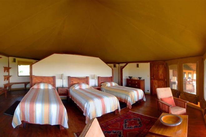 Elewana Tortilis Camp Private House Triple Room