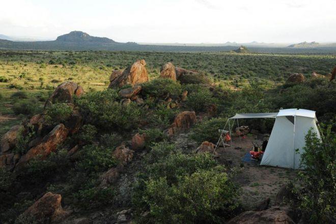 Karisia Walking Safaris Classic Tent View