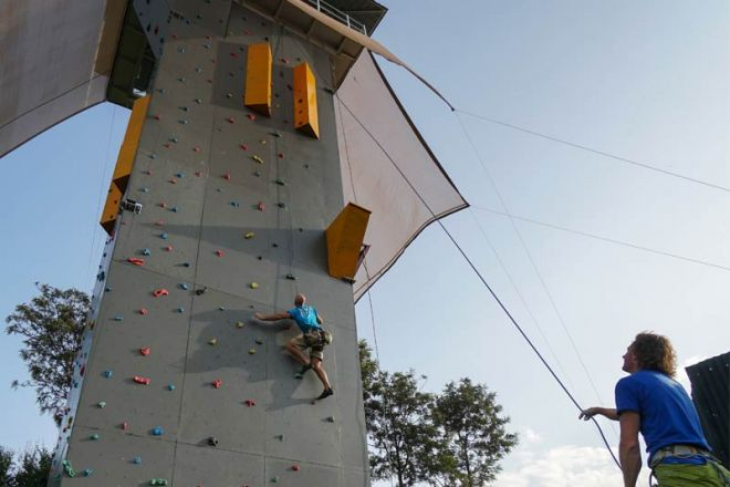 Karisia Walking Safaris Climbing Wall