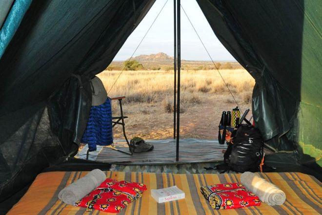 Karisia Walking Safaris Luxury Tent Interior