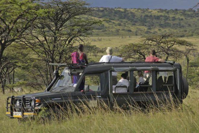 Kicheche Bush Camp Game Drive