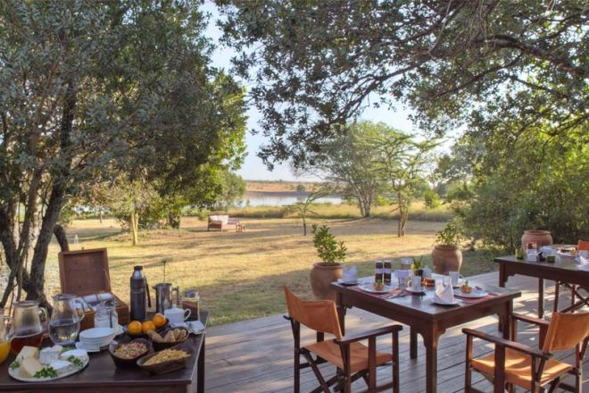 Kicheche Laikipia Outdoor Dining