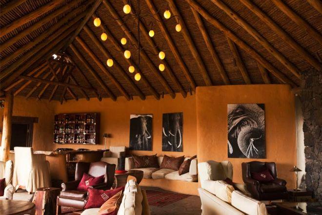 Ol Donyo Lodge Bar Lounge