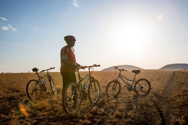 Ol Donyo Lodge Cycle Safari