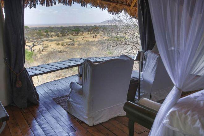 Ol Donyo Lodge Room View