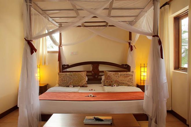 Pinewood Beach Resort & Spa Baobab Suite Bedroom Main