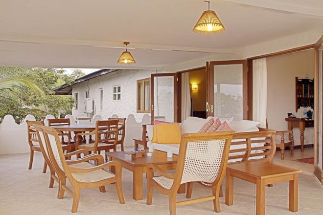 Pinewood Beach Resort & Spa Baobab Suite Verandah