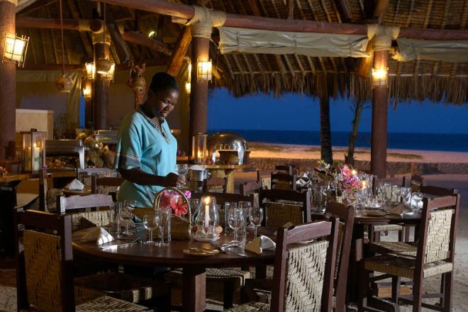 Pinewood Beach Resort & Spa Peponi Beach Restaurant