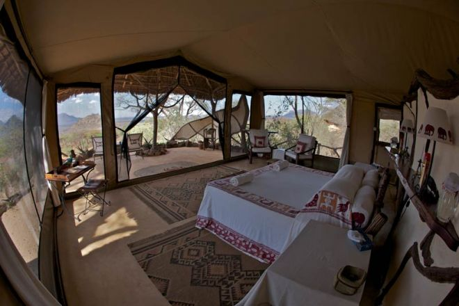 Sarara Camp Bedroom