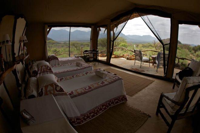 Sarara Camp Triple Room Sarara House