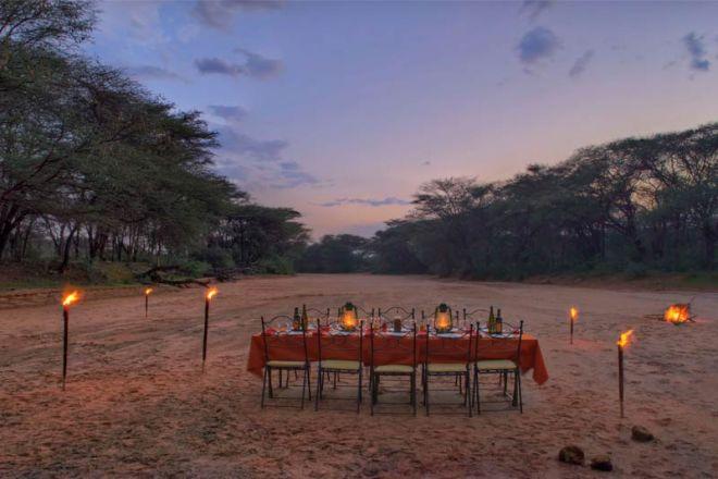 Saruni Samburu Bush Dinner