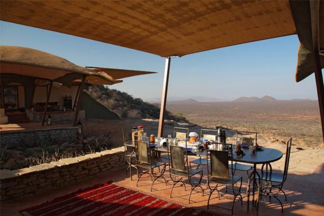 Saruni Samburu Main Lodge Kudu House Breakfast