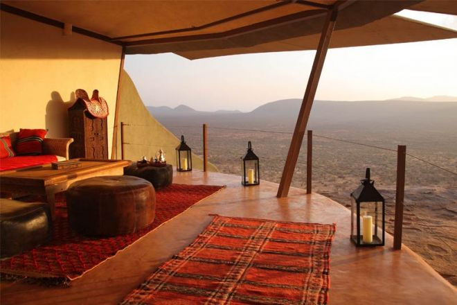 Saruni Samburu Main Lodge Kudu House Sitting Area