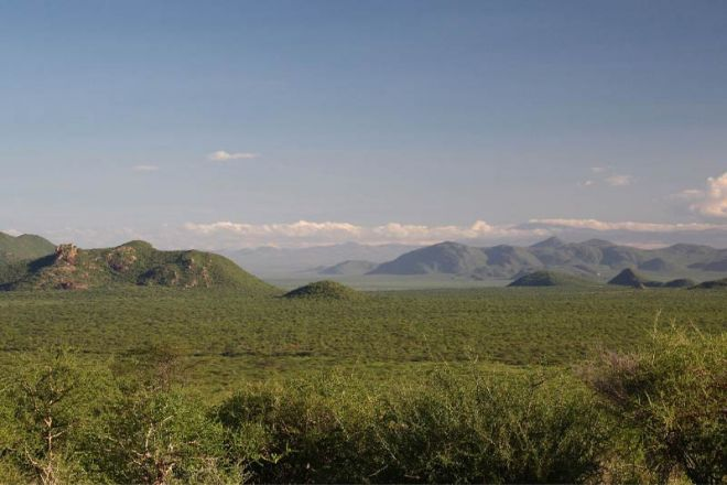 Saruni Samburu View from Lodge
