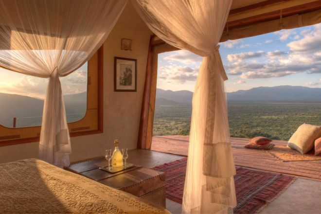 Saruni Samburu Villa Bedroom
