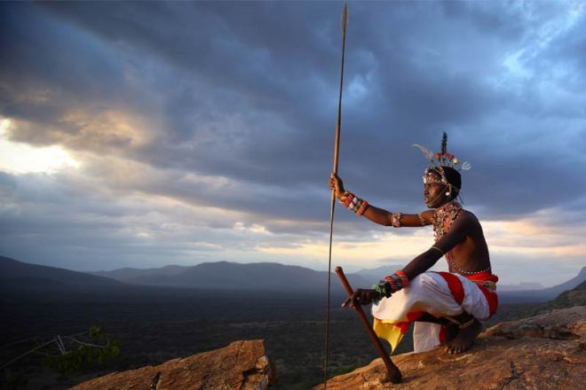 Saruni Samburu Warrior