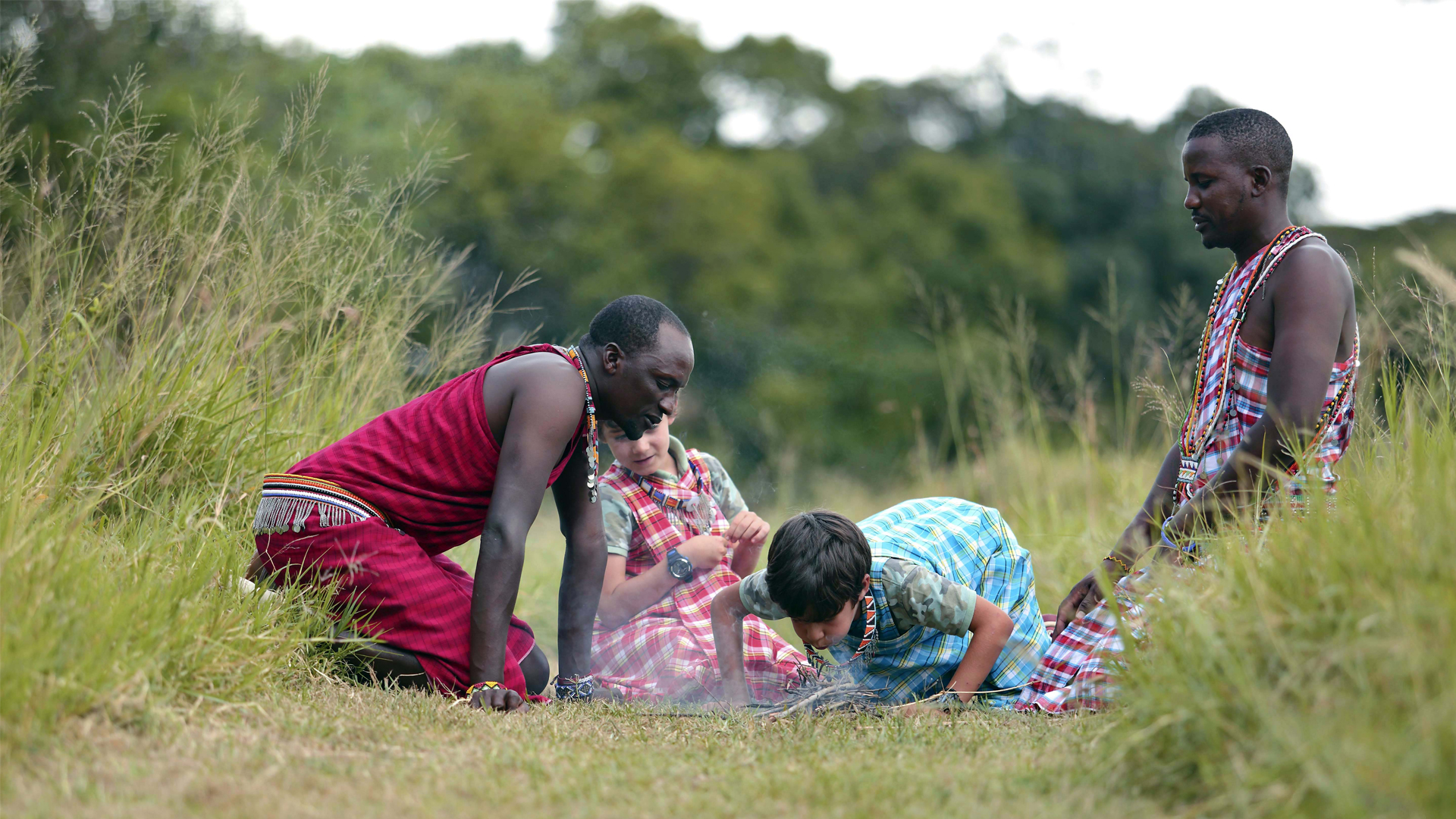 All About Safaris Family Safaris kicheche mara maasai and kids