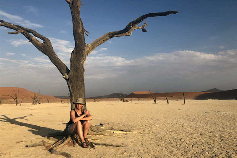 All About Safaris namibia dead vlei michele