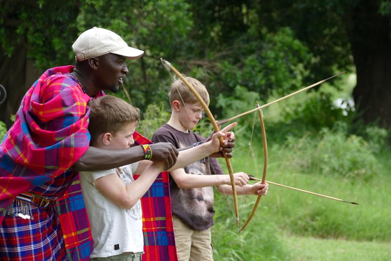 All About Safaris children archery