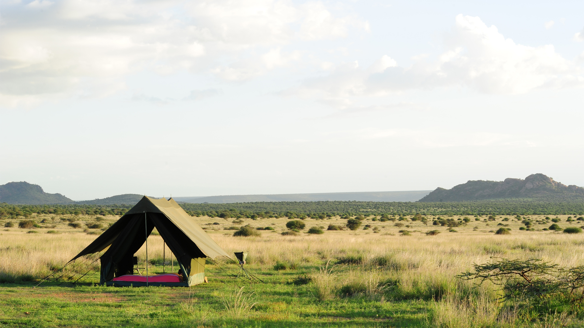 All About Safaris Accommodation adventure luxury mobile karisia luxury tent view