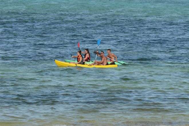 Breezes Beach Club & Spa kayaking