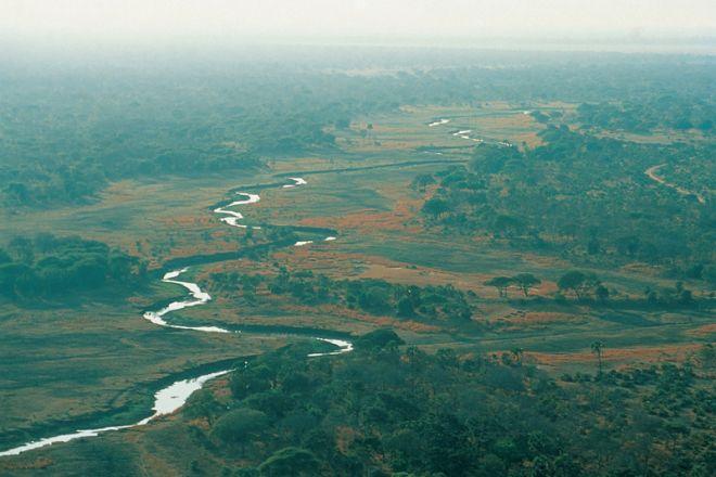 Chada Camp aerial landscape