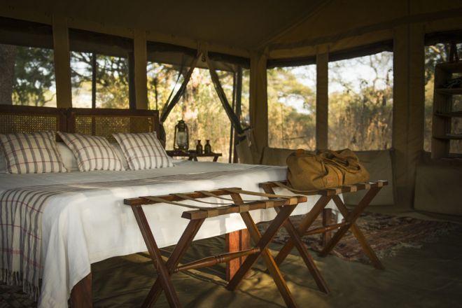 Chada Camp tent bedroom