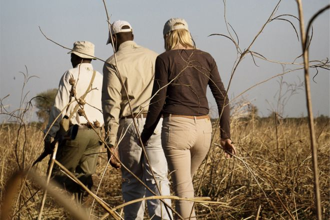 Chada Camp walking