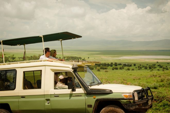 Entamanu Ngorongoro game drive
