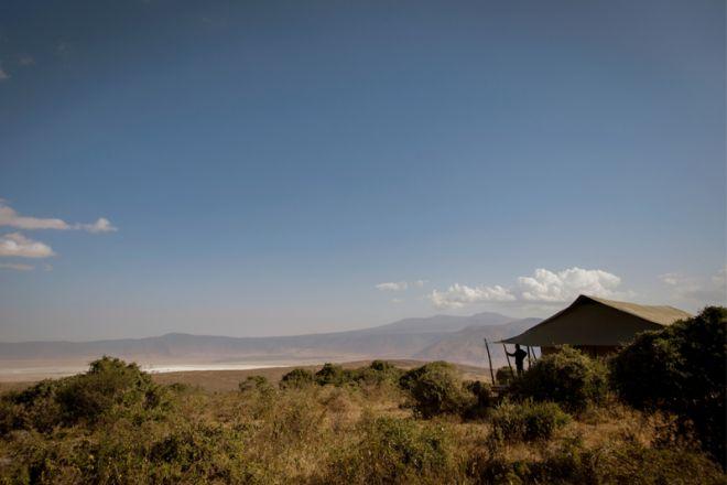 Entamanu Ngorongoro setting