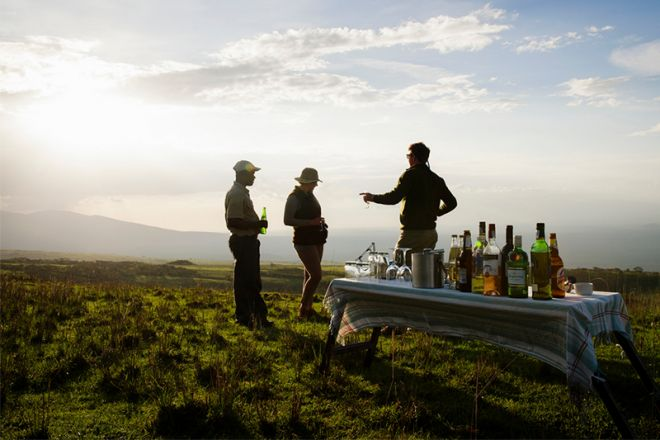Entamanu Ngorongoro sundowners
