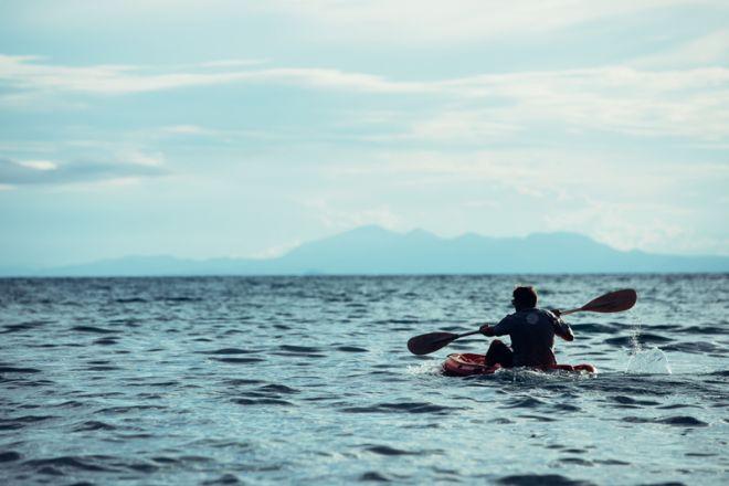 Greystoke Mahale kayaking