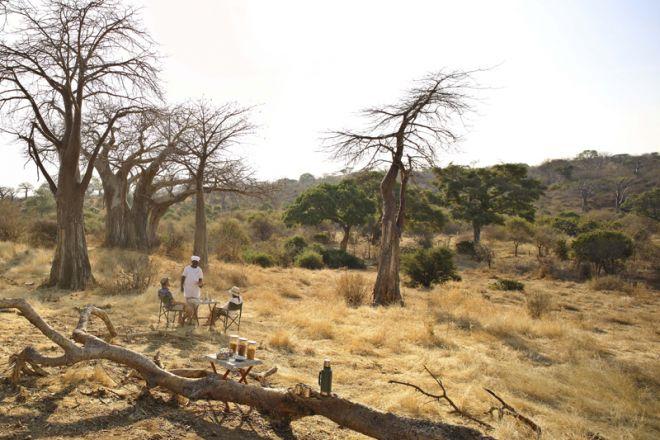 Ikuka Safari Camp bush breakfast