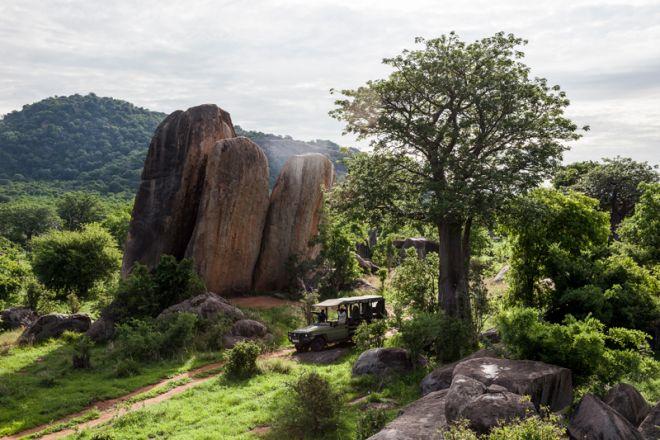 Jabali Ridge game drive landscape