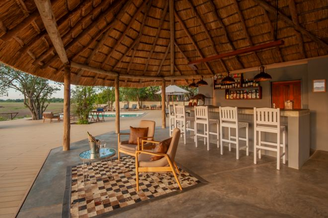 Kafunta River Lodge Bar